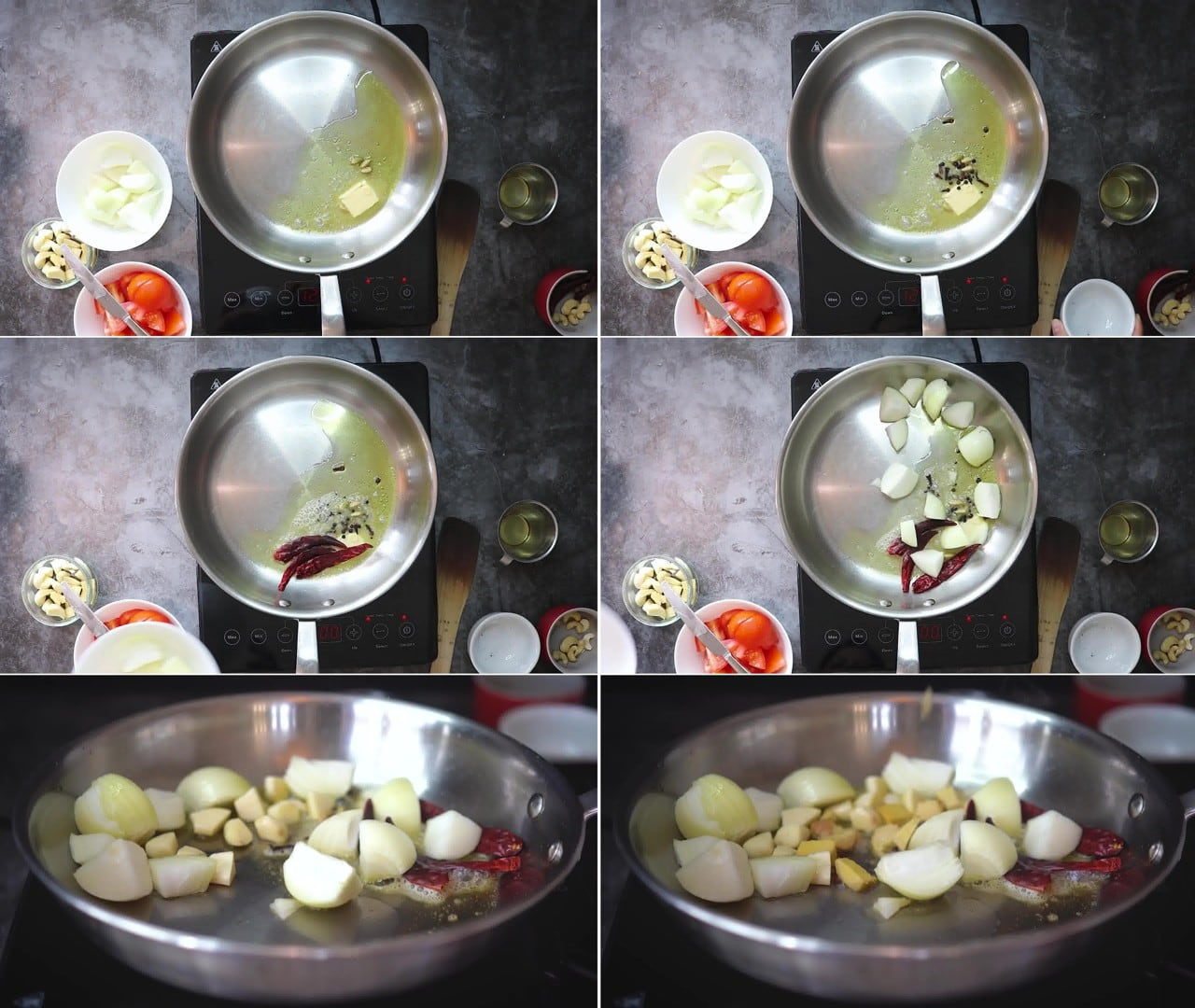 Image of the cooking step-2-2 for Makhani Pasta