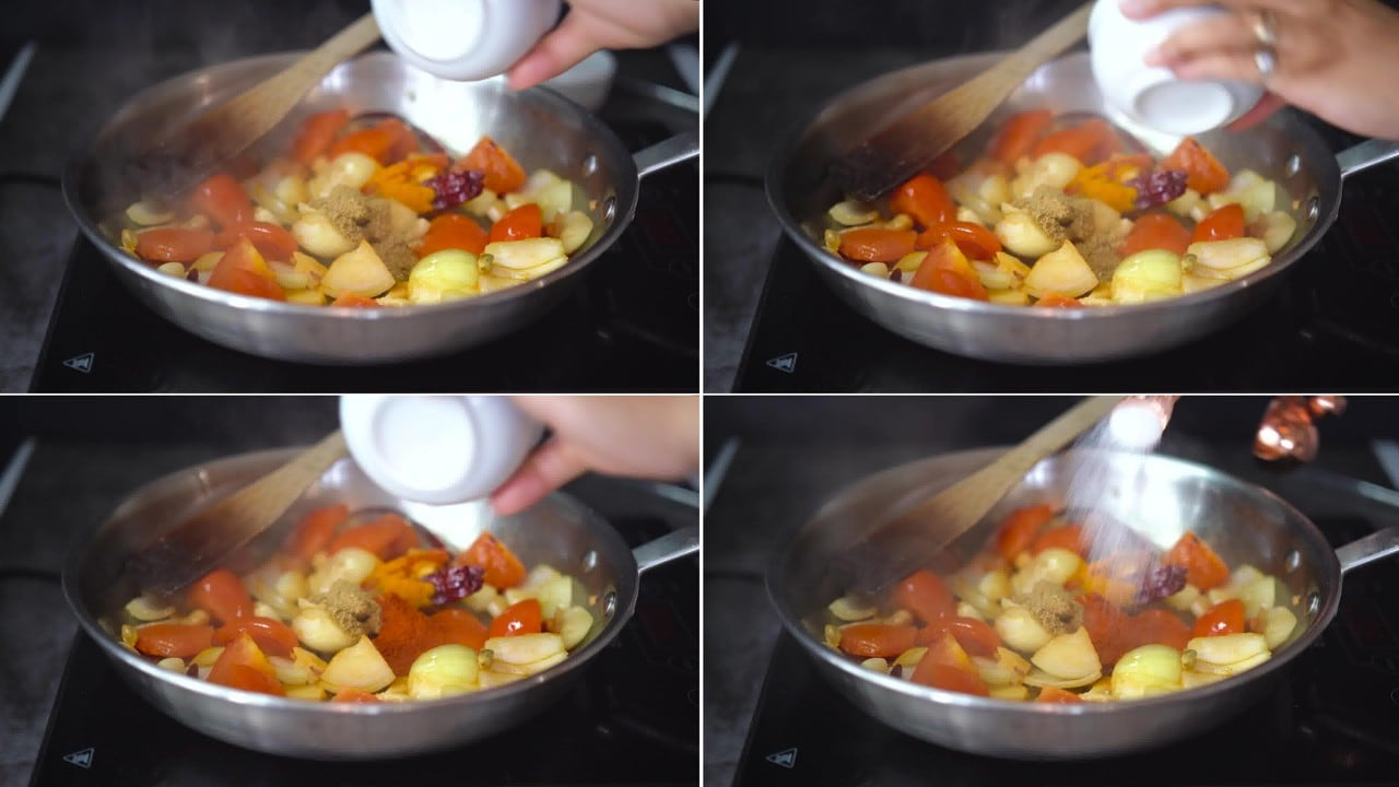 Image of the cooking step-2-4 for Makhani Pasta