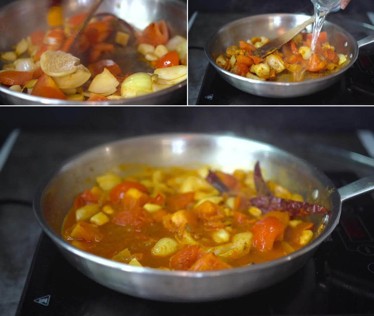 Image of the cooking step-2-5 for Makhani Pasta