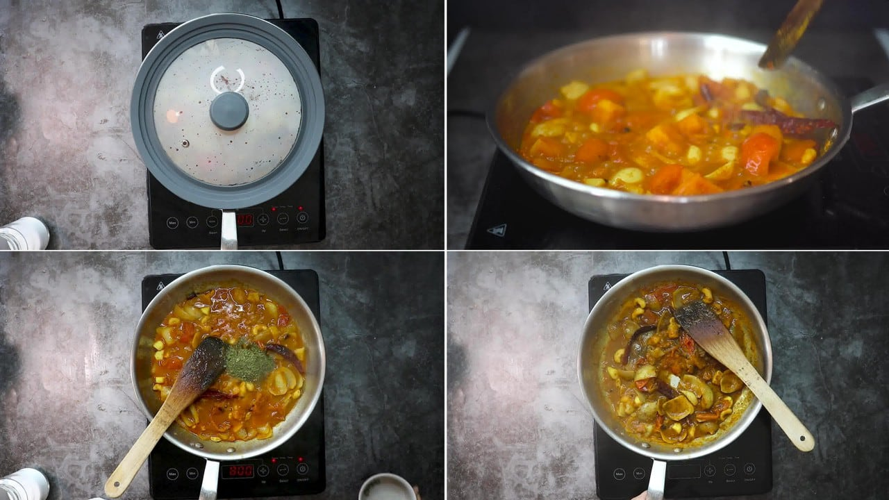 Image of the cooking step-2-6 for Makhani Pasta