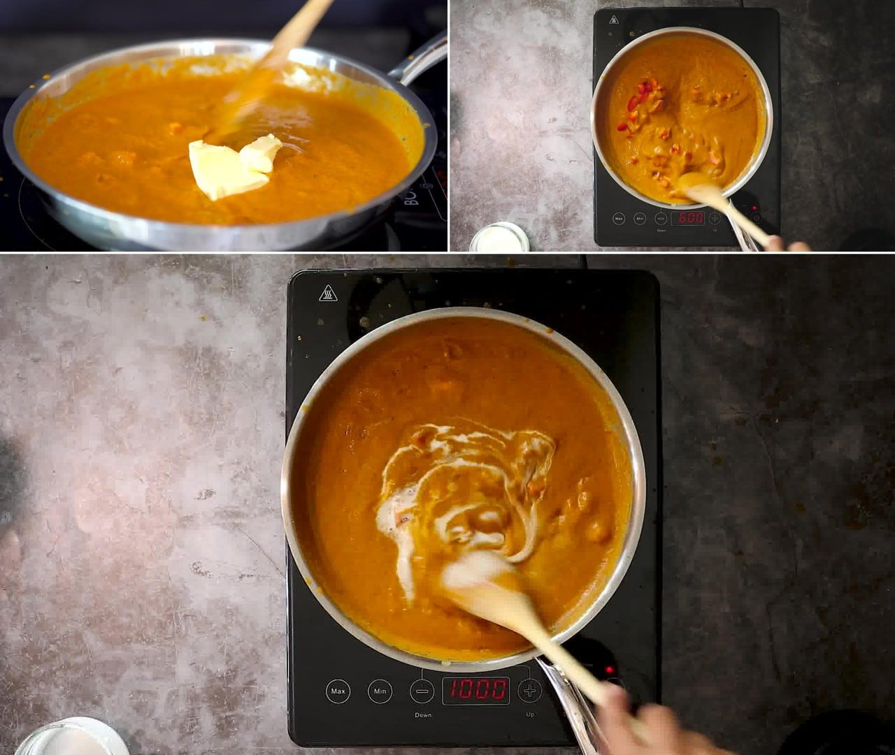 Image of the cooking step-2-9 for Makhani Pasta
