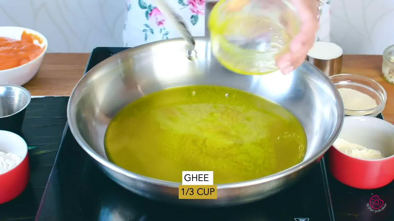 Image of the cooking step-1-1 for Mango Halwa