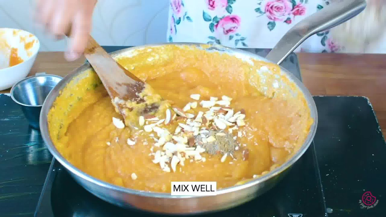 Image of the cooking step-1-11 for Mango Halwa