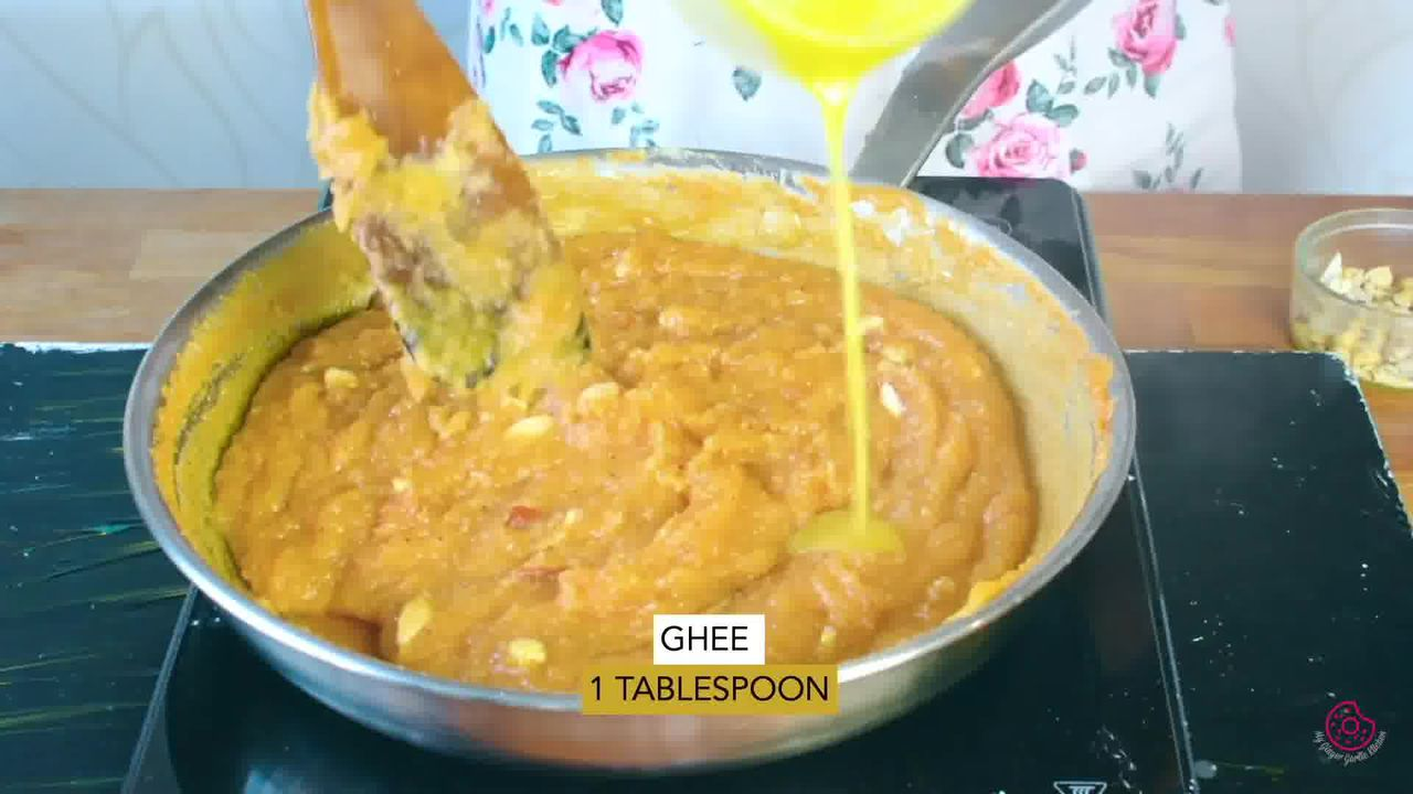 Image of the cooking step-1-13 for Mango Halwa
