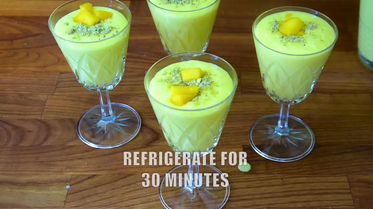 Image of the cooking step-1-4 for Mango Lassi (Video)