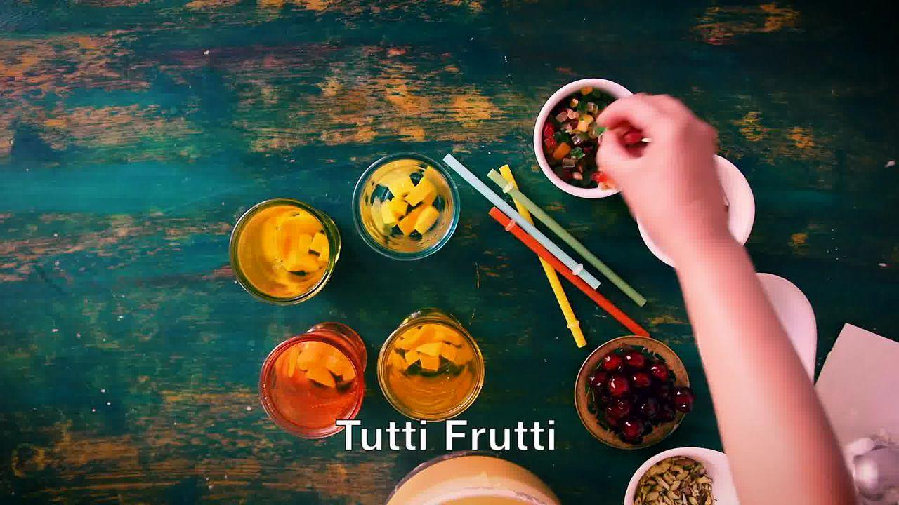Image of the cooking step-1-2 for Mango Mastani Recipe - Mango Milkshake With Ice Cream