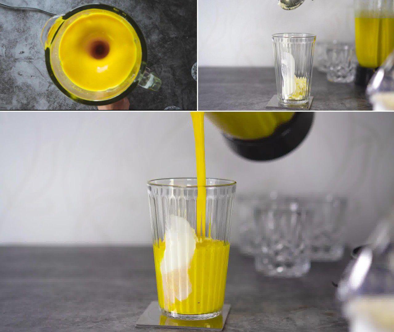 Image of the cooking step-1-3 for Mango Milkshake