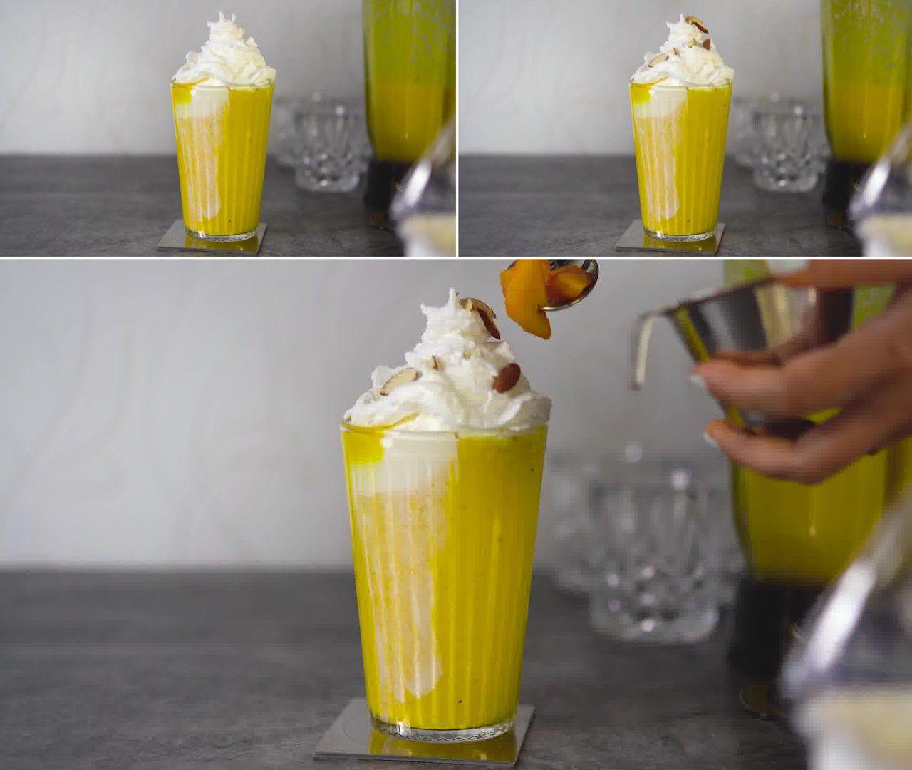 Image of the cooking step-1-4 for Mango Milkshake