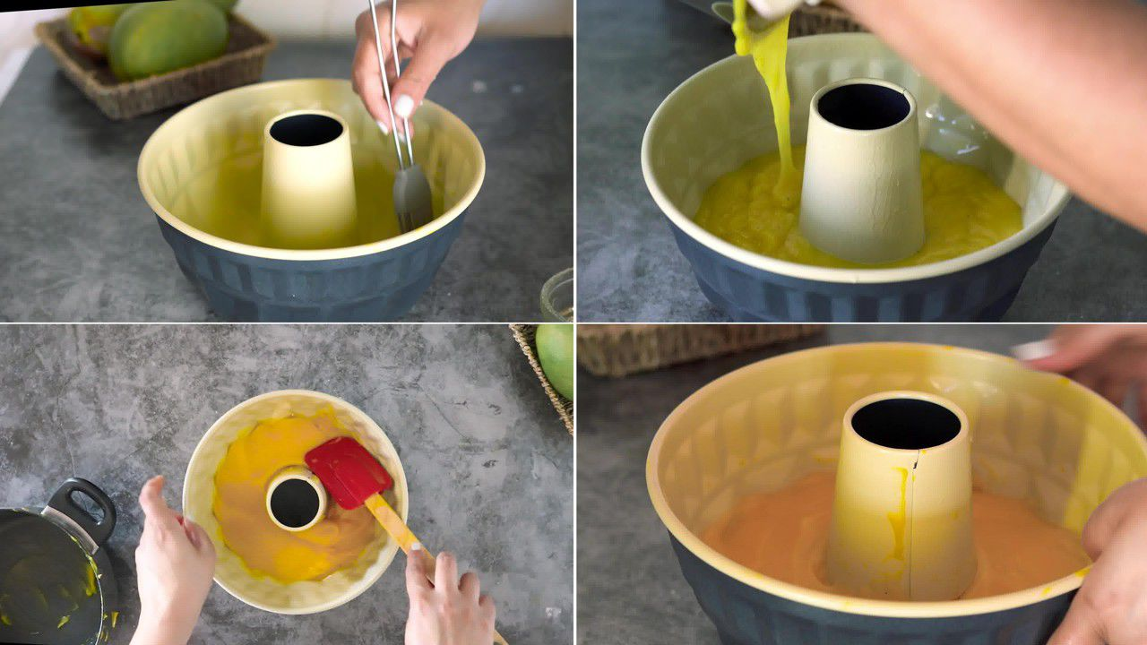 Image of the cooking step-1-6 for Mango Pudding
