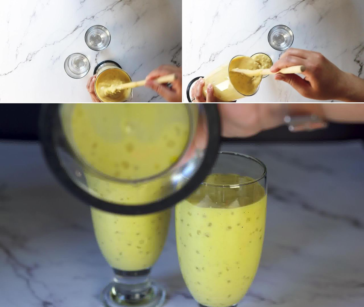Image of the cooking step-1-7 for Mango Sago Recipe