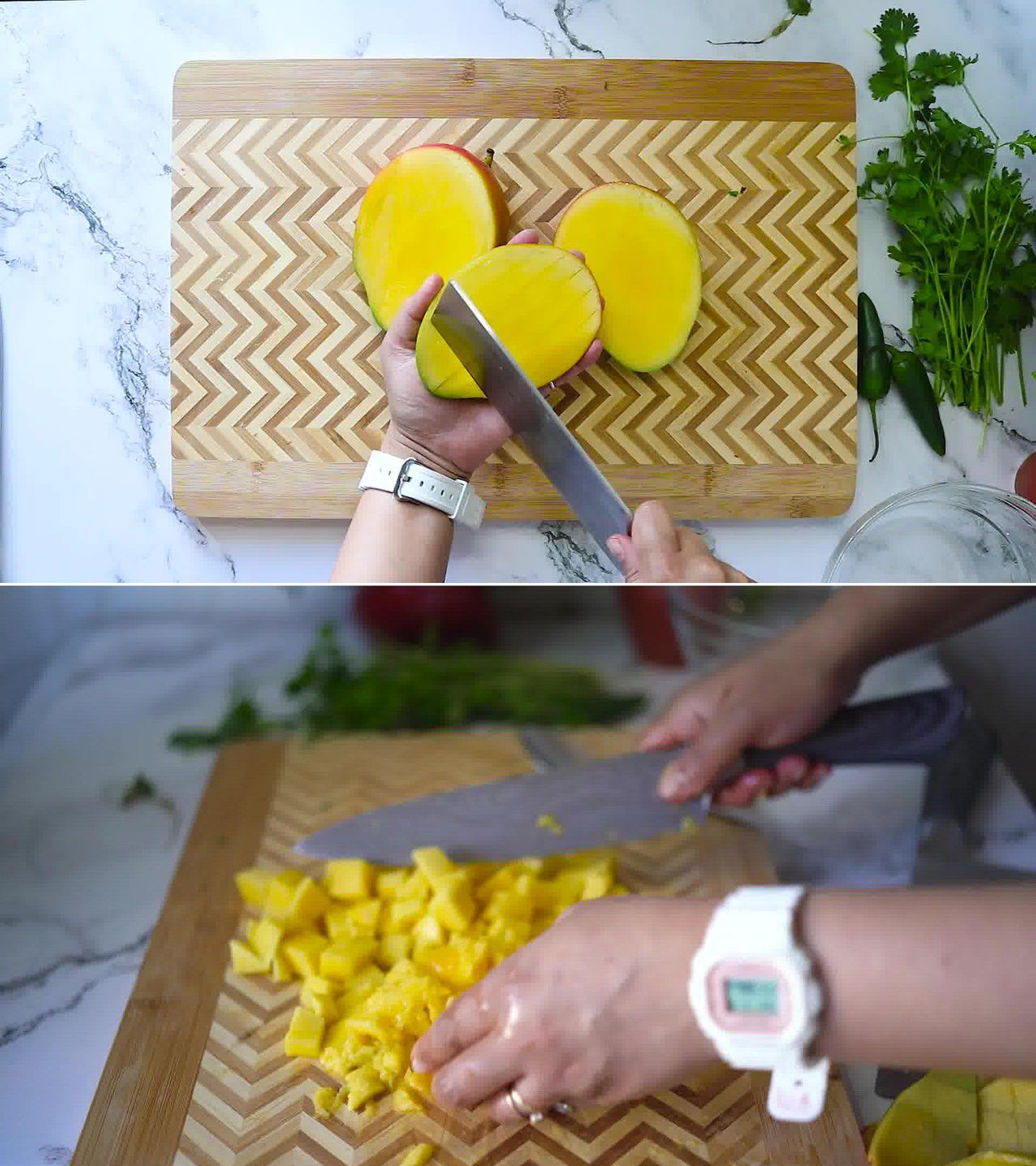 Image of the cooking step-1-1 for Mango Salsa