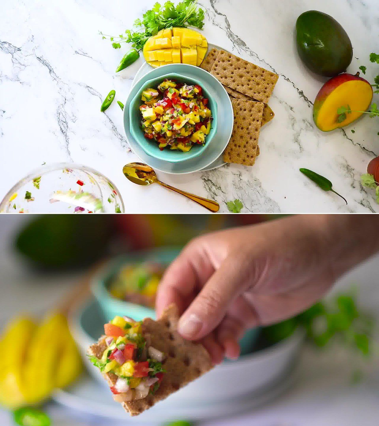Image of the cooking step-1-6 for Mango Salsa