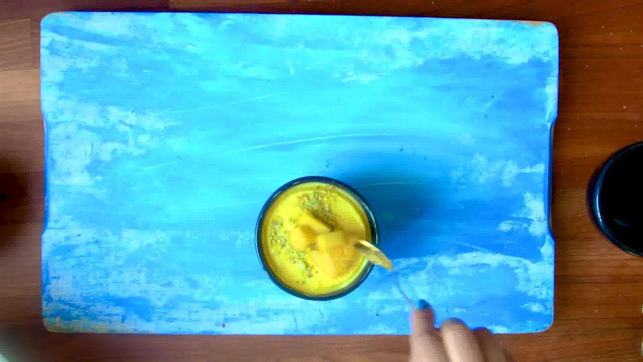 Image of the cooking step-1-9 for Instant Mango Shrikhand - Mango Greek Yogurt Dessert