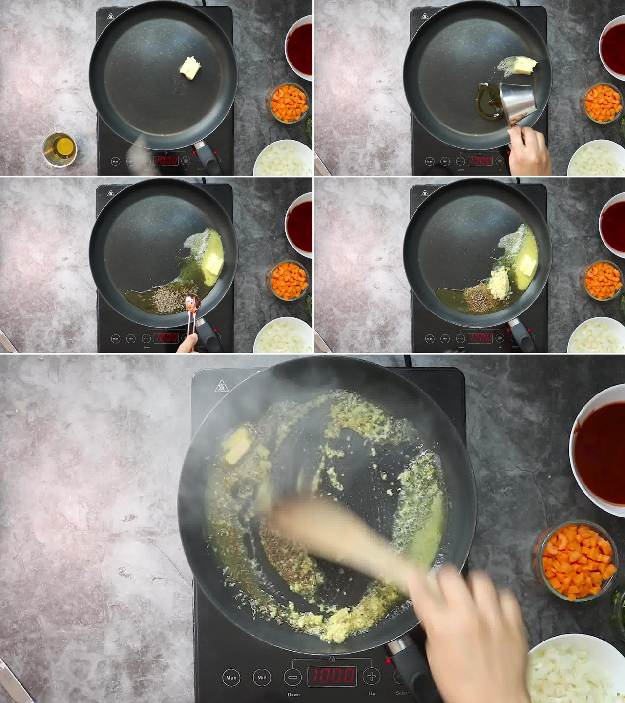 Image of the cooking step-2-1 for Masala Pasta Recipe | Indian Style Pasta