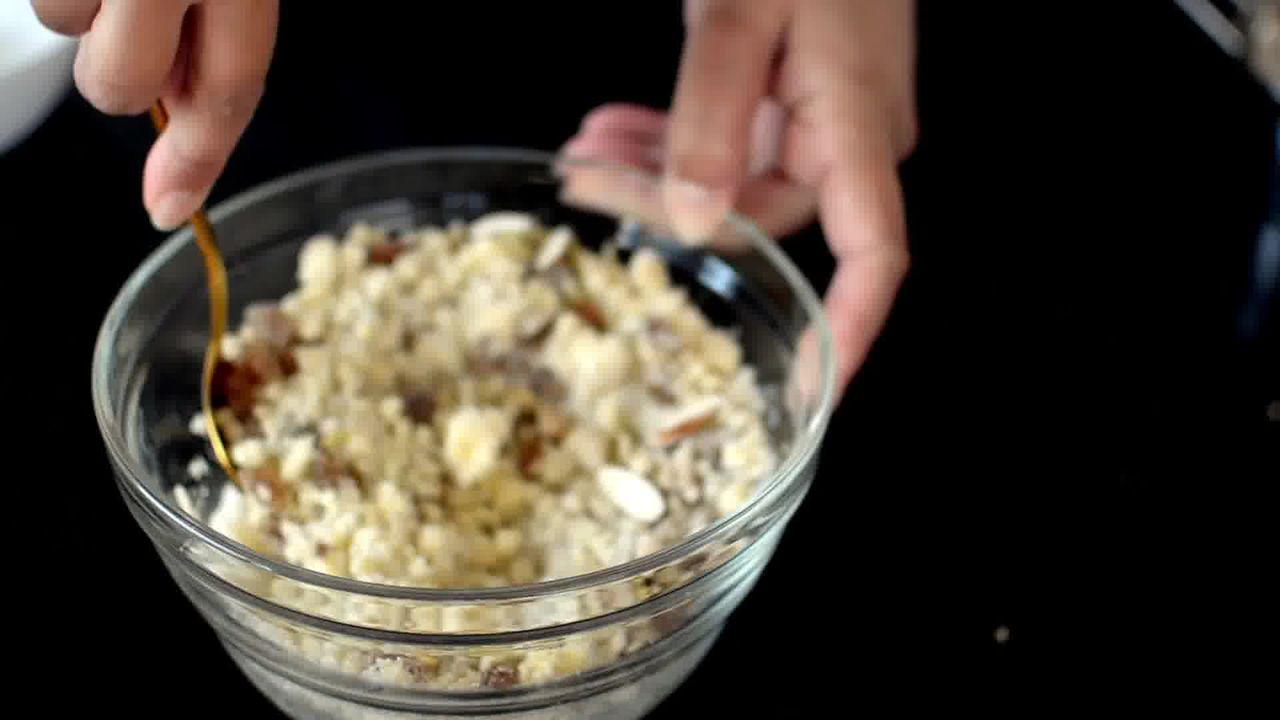 Image of the cooking step-2-5 for Gujiya Recipe | Mawa Gujiya Recipe