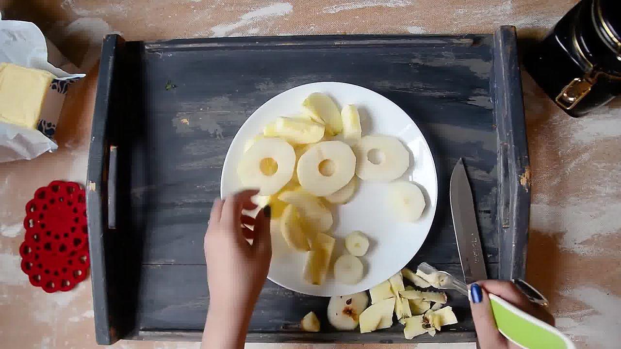 Image of the cooking step-1-3 for Mini Apple Pear Tarte Tatin