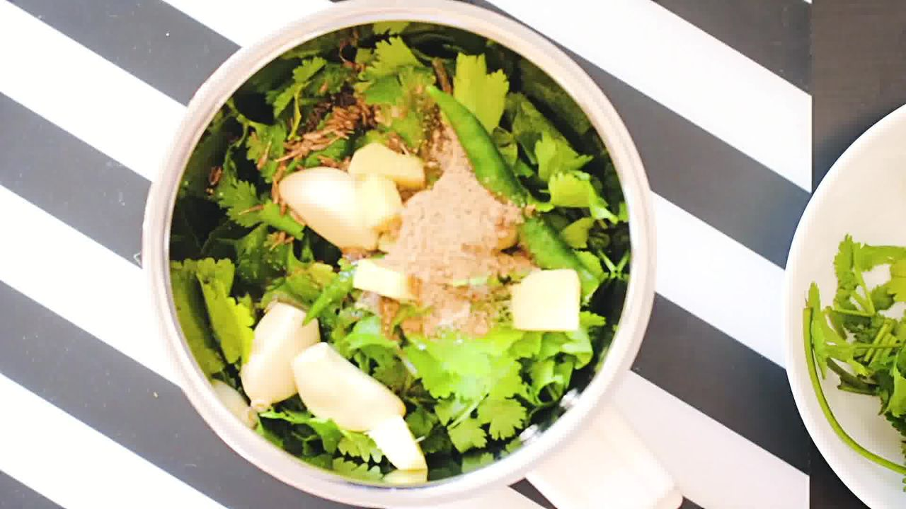 Image of the cooking step-1-1 for Mint Coriander Chutney - 2 Ways