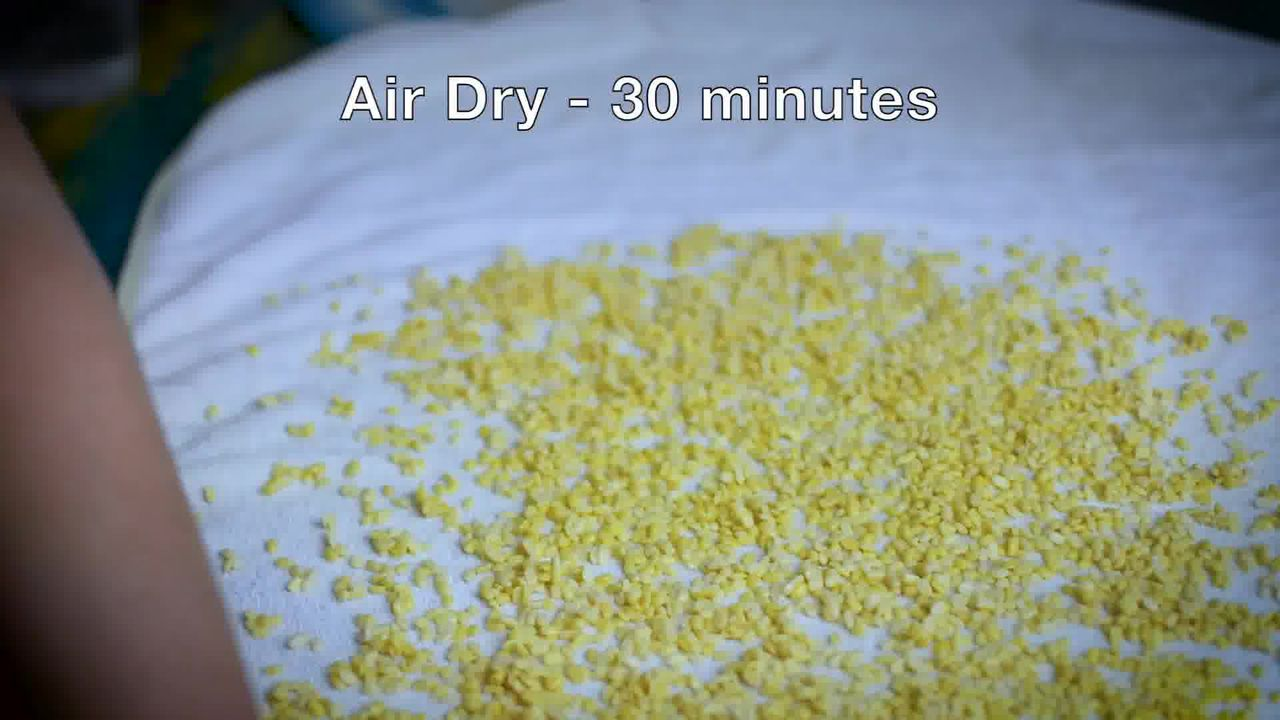Image of the cooking step-1-6 for Moong Dal Namkeen - Salted Crunchy Fried Moong Dal Snack
