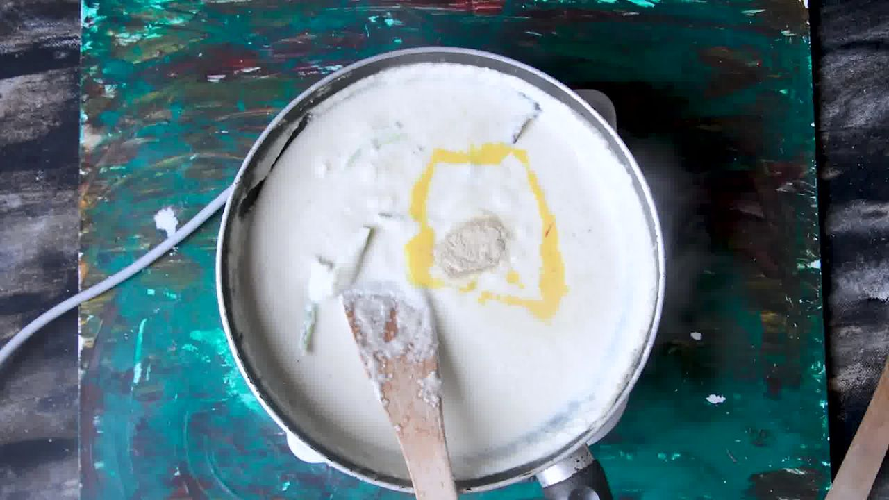 Image of the cooking step-4-7 for Mughlai Navratan Korma - White Gravy Navratan Kurma