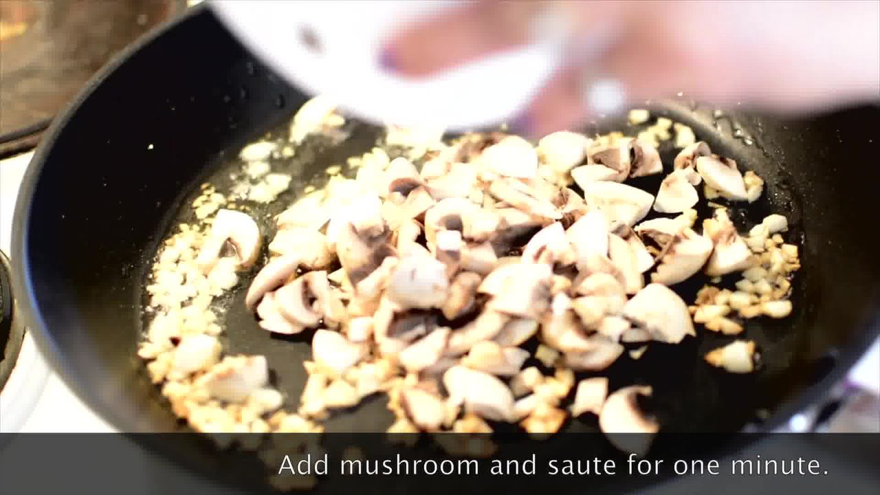 Image of the cooking step-1-2 for Mushroom Kale Stuffed Paratha (Video)