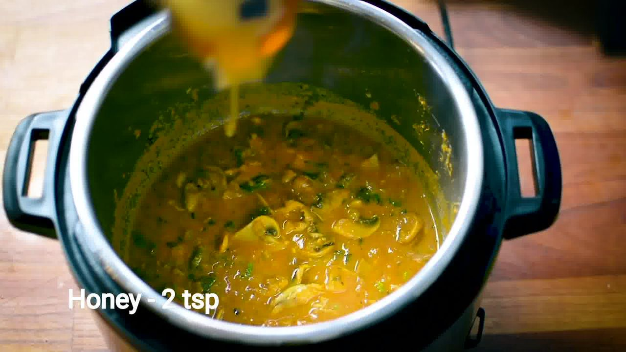 Image of the cooking step-1-16 for Mushroom Masala Curry (Instant Pot + Cooker + Pan)