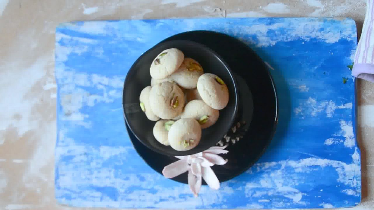 Image of the cooking step-1-11 for Nankhatai Recipe - Indian Shortbread Cookies
