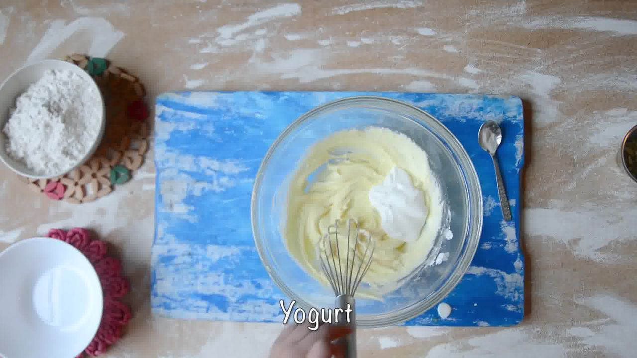 Image of the cooking step-1-3 for Nankhatai Recipe - Indian Shortbread Cookies