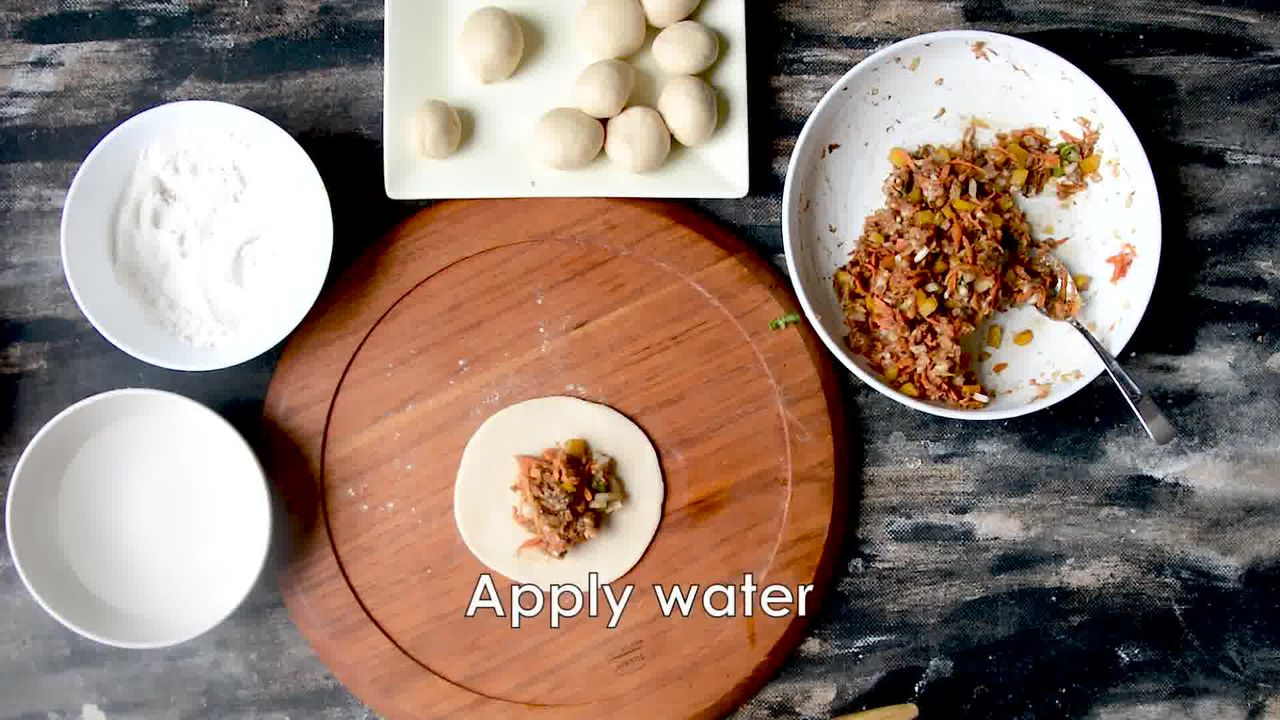 Image of the cooking step-3-3 for Nepalese Whole Wheat Steamed Veg Momos