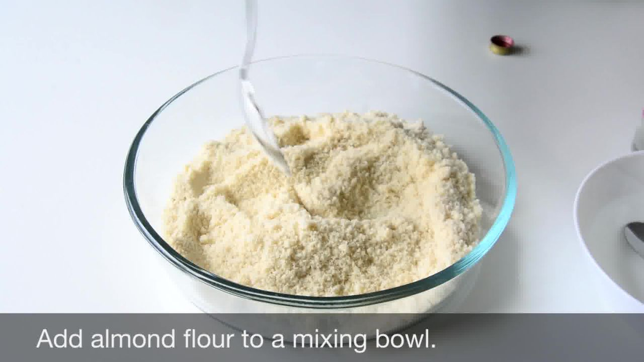 Image of the cooking step-1-1 for No Bake Almond Flower Cookies - Badam Katli