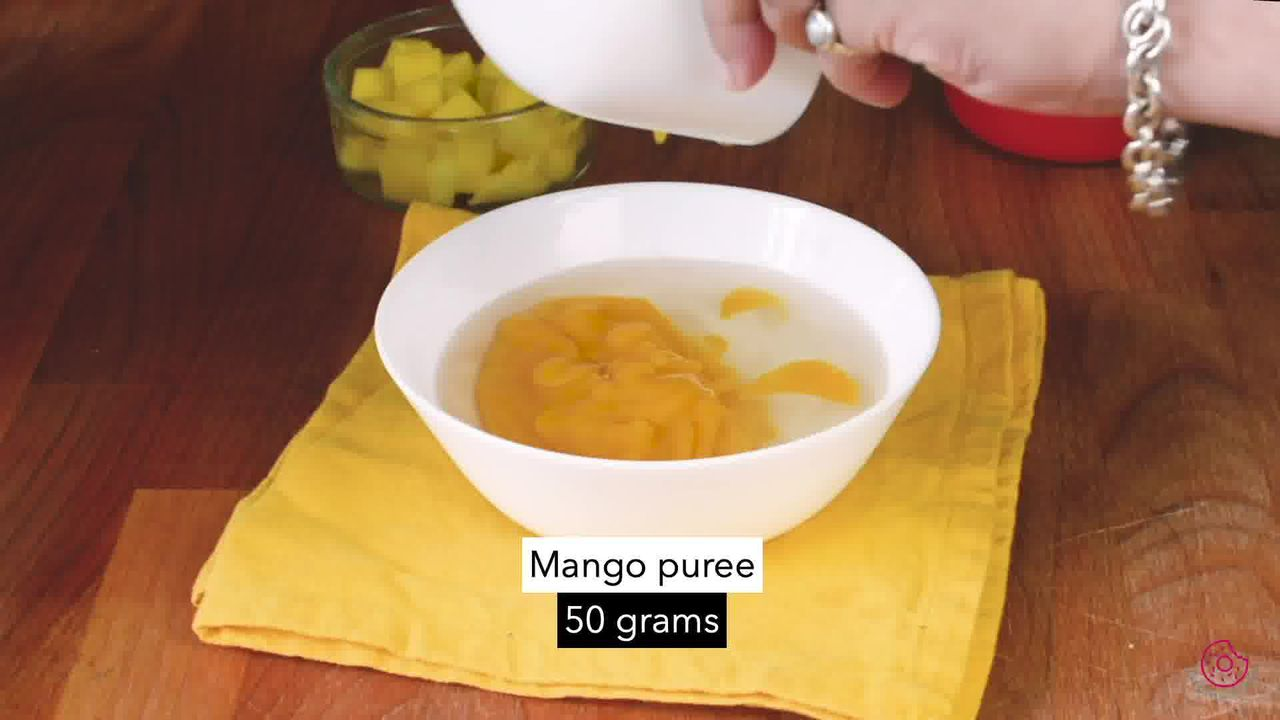 Image of the cooking step-3-4 for No Bake Mango Cheesecake