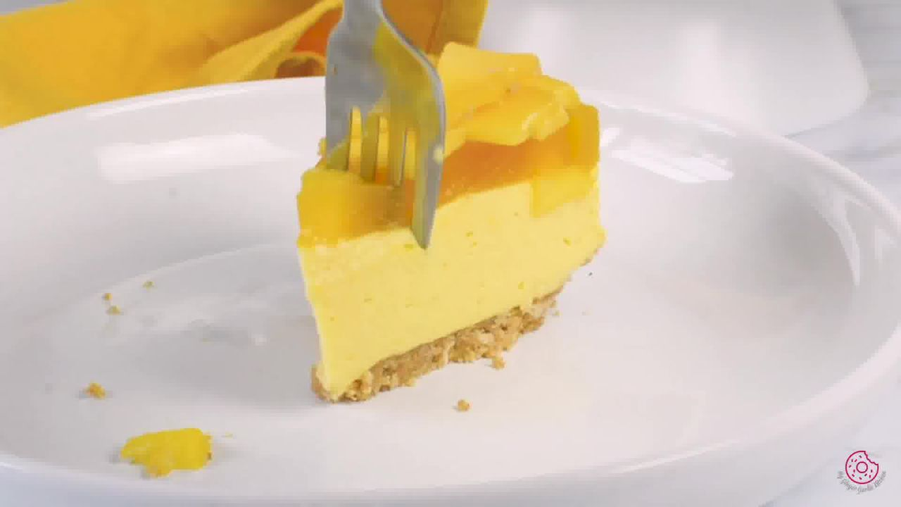 Image of the cooking step-4-3 for No Bake Mango Cheesecake