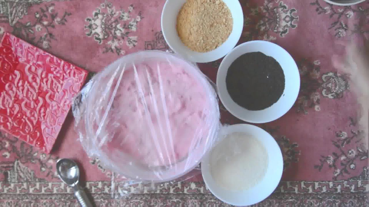 Image of the cooking step-1-6 for No Bake Strawberry Cheesecake Bites