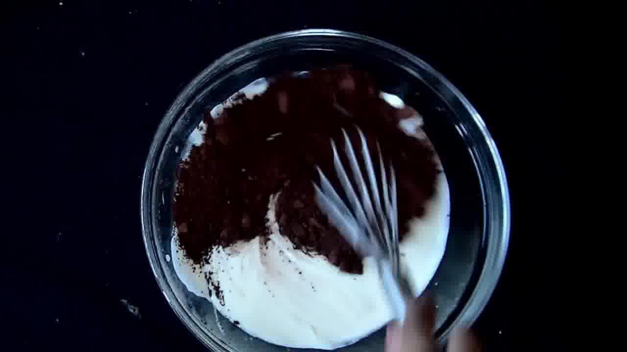 Image of the cooking step-5-7 for Zebra Cheesecake Recipe  (No-Bake | Gluten Free)