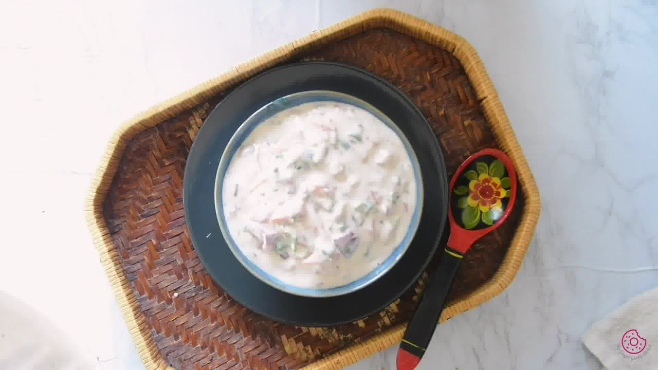 Image of the cooking step-1-6 for Onion Tomato Raita