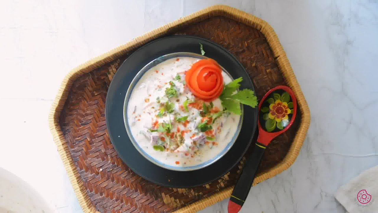 Image of the cooking step-1-7 for Onion Tomato Raita