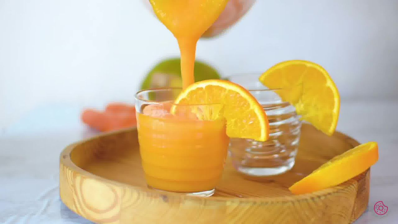 Image of the cooking step-1-4 for Immunity Boosting Orange Smoothie