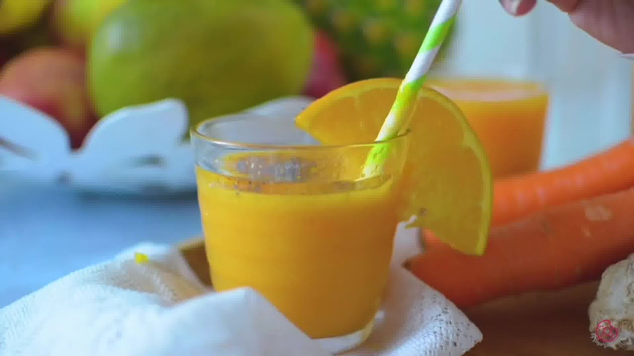 Image of the cooking step-1-5 for Immunity Boosting Orange Smoothie