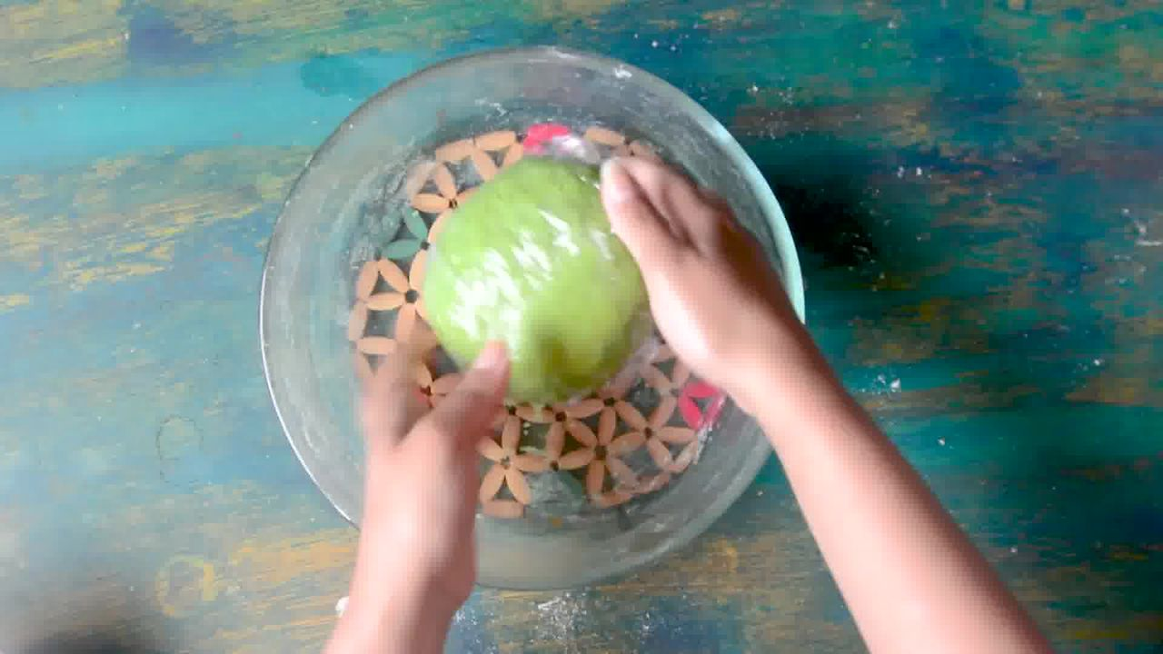 Image of the cooking step-2-5 for Palak Puri - Spinach Puri (Step-by-step video)
