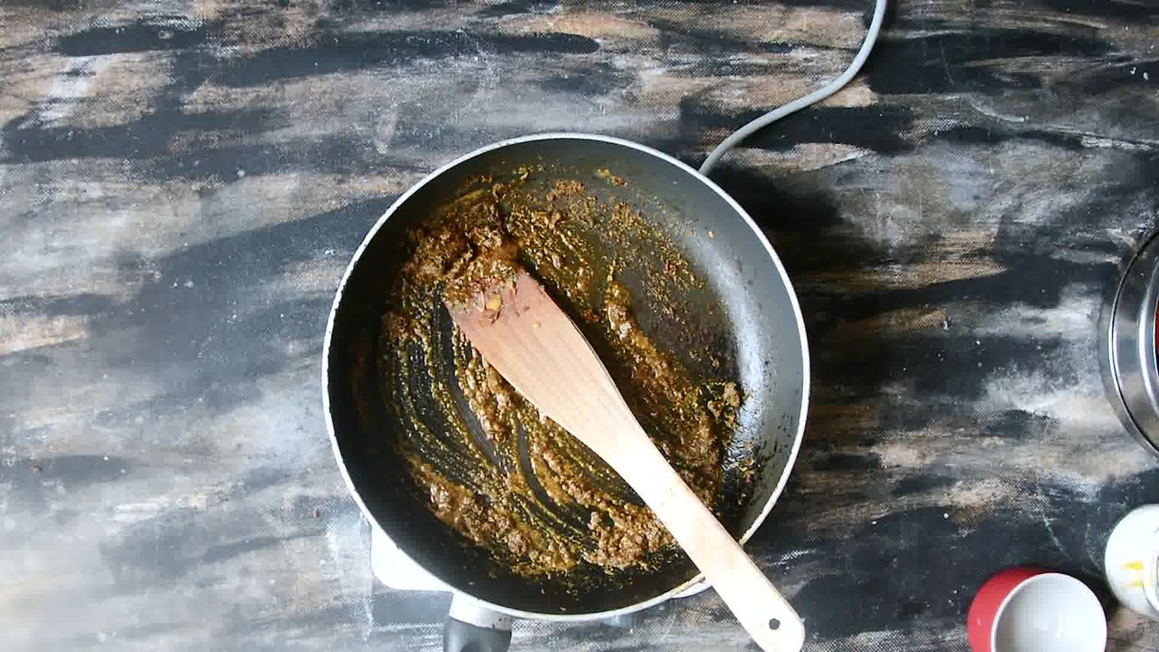 Image of the cooking step-2-10 for Palak Paneer - Spinach and Indian Cottage Cheese Gravy