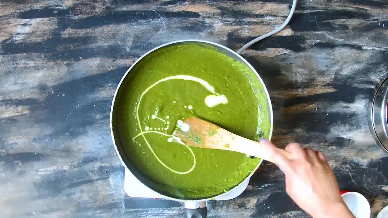Image of the cooking step-2-15 for Palak Paneer - Spinach and Indian Cottage Cheese Gravy