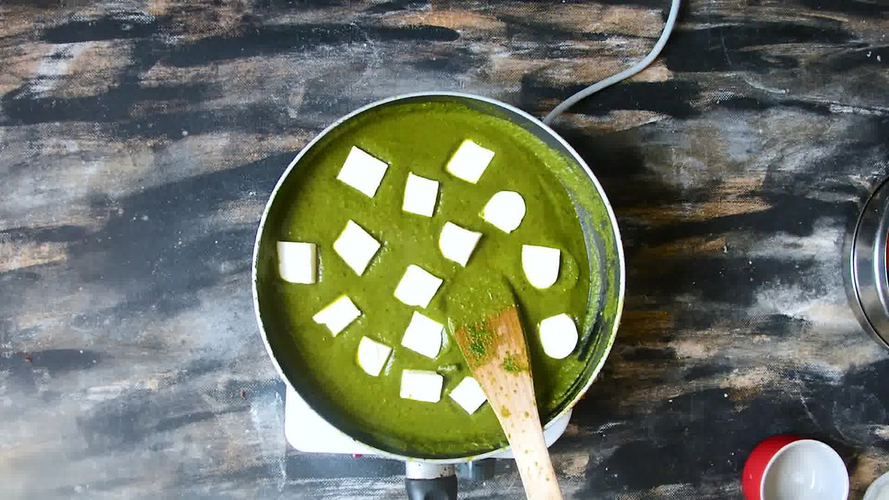 Image of the cooking step-2-16 for Palak Paneer - Spinach and Indian Cottage Cheese Gravy
