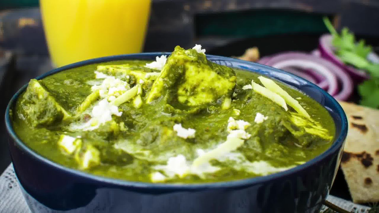 Image of the cooking step-2-19 for Palak Paneer - Spinach and Indian Cottage Cheese Gravy