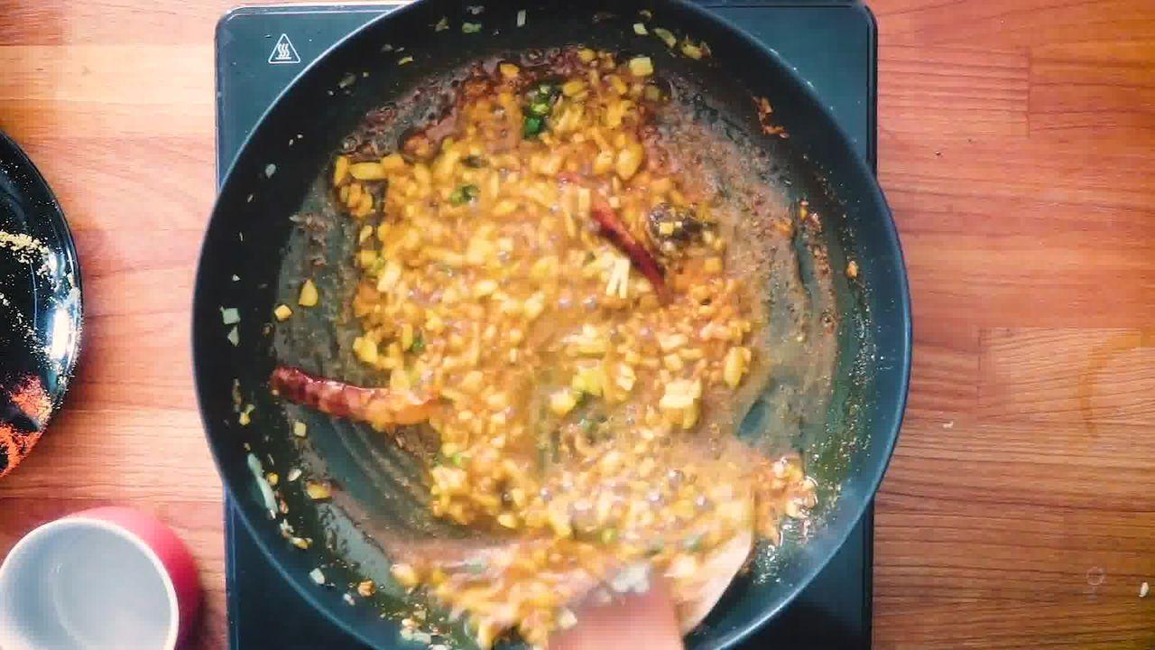 Image of the cooking step-2-10 for Rajasthani Panchmel Dal | Panchratan Dal Recipe