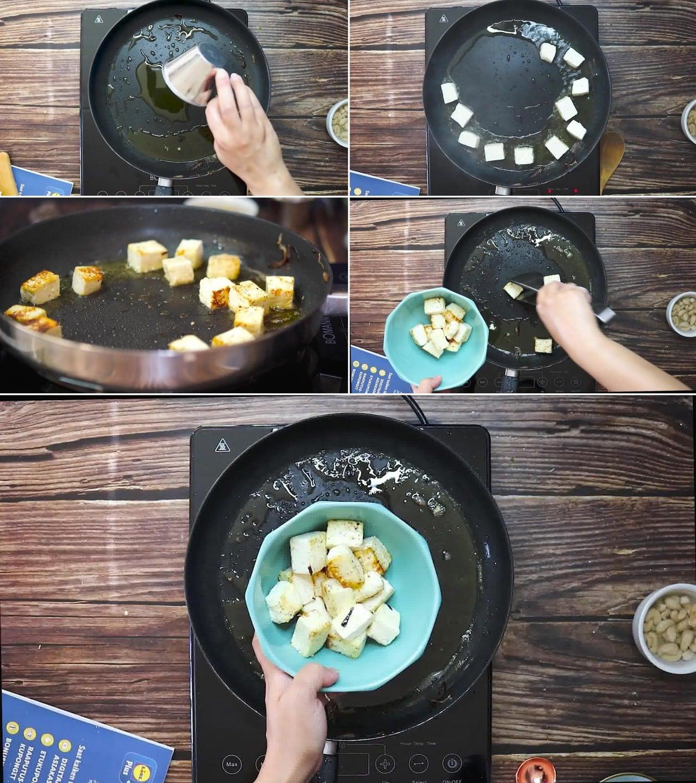 Image of the cooking step-2-4 for Paneer Korma Recipe | Shahi Paneer Korma Curry