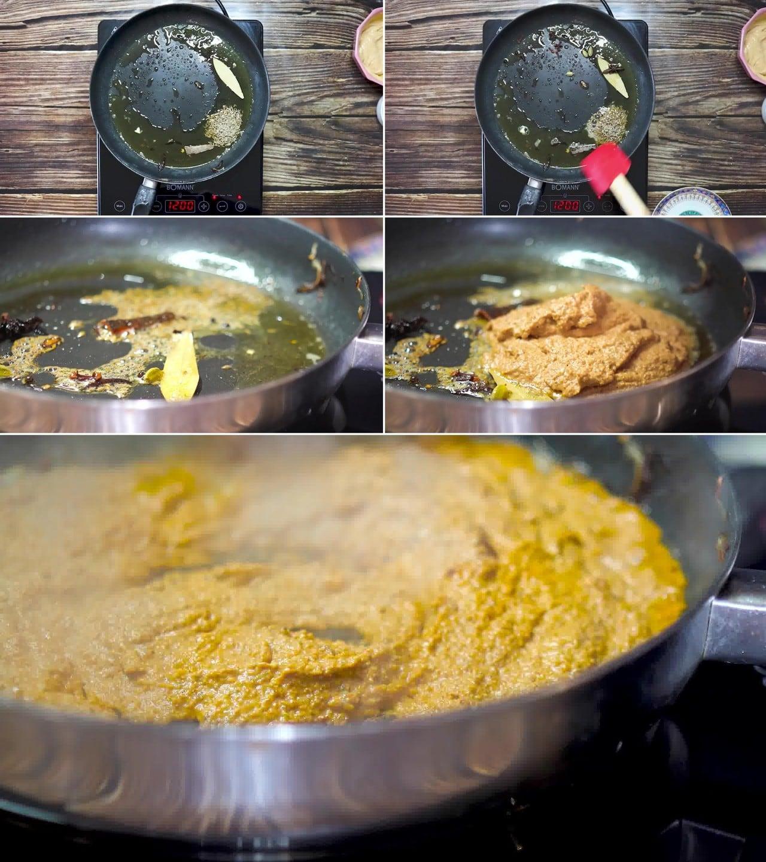 Image of the cooking step-2-5 for Paneer Korma Recipe | Shahi Paneer Korma Curry