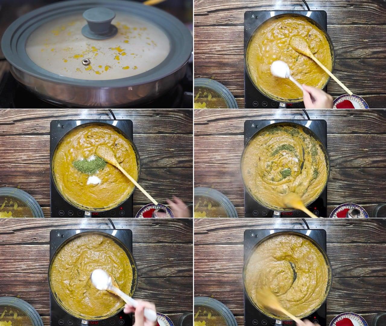 Image of the cooking step-2-8 for Paneer Korma Recipe | Shahi Paneer Korma Curry