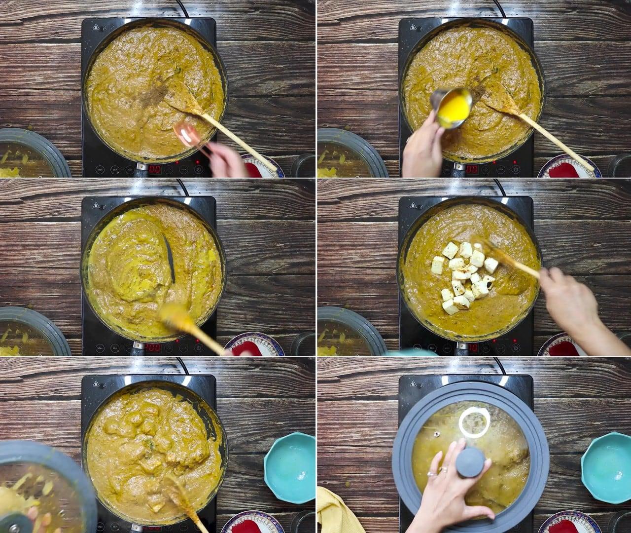 Image of the cooking step-2-9 for Paneer Korma Recipe | Shahi Paneer Korma Curry