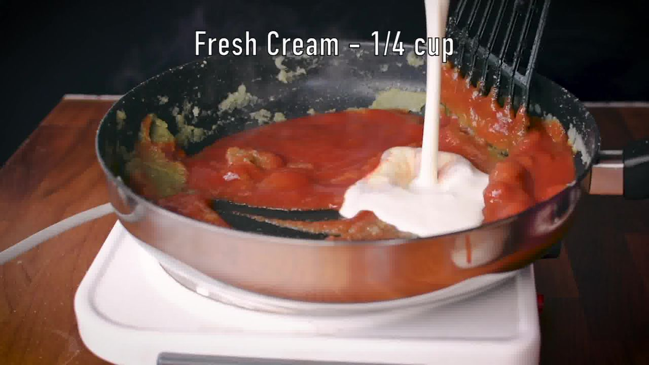 Image of the cooking step-4-5 for Paneer Tikka Masala Recipe