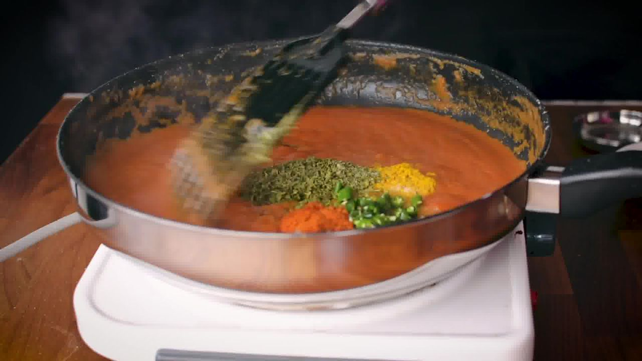Image of the cooking step-4-7 for Paneer Tikka Masala Recipe