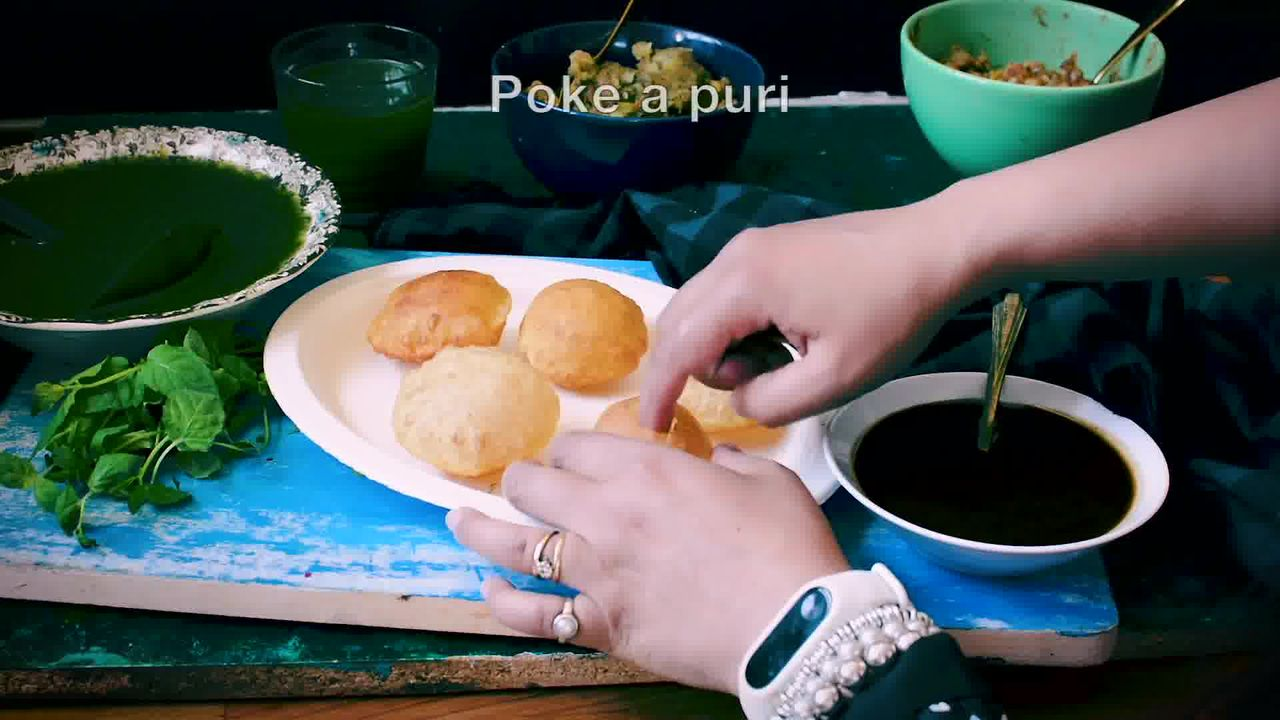 Image of the cooking step-6-1 for Complete Pani Puri Recipe - Gol Gappe